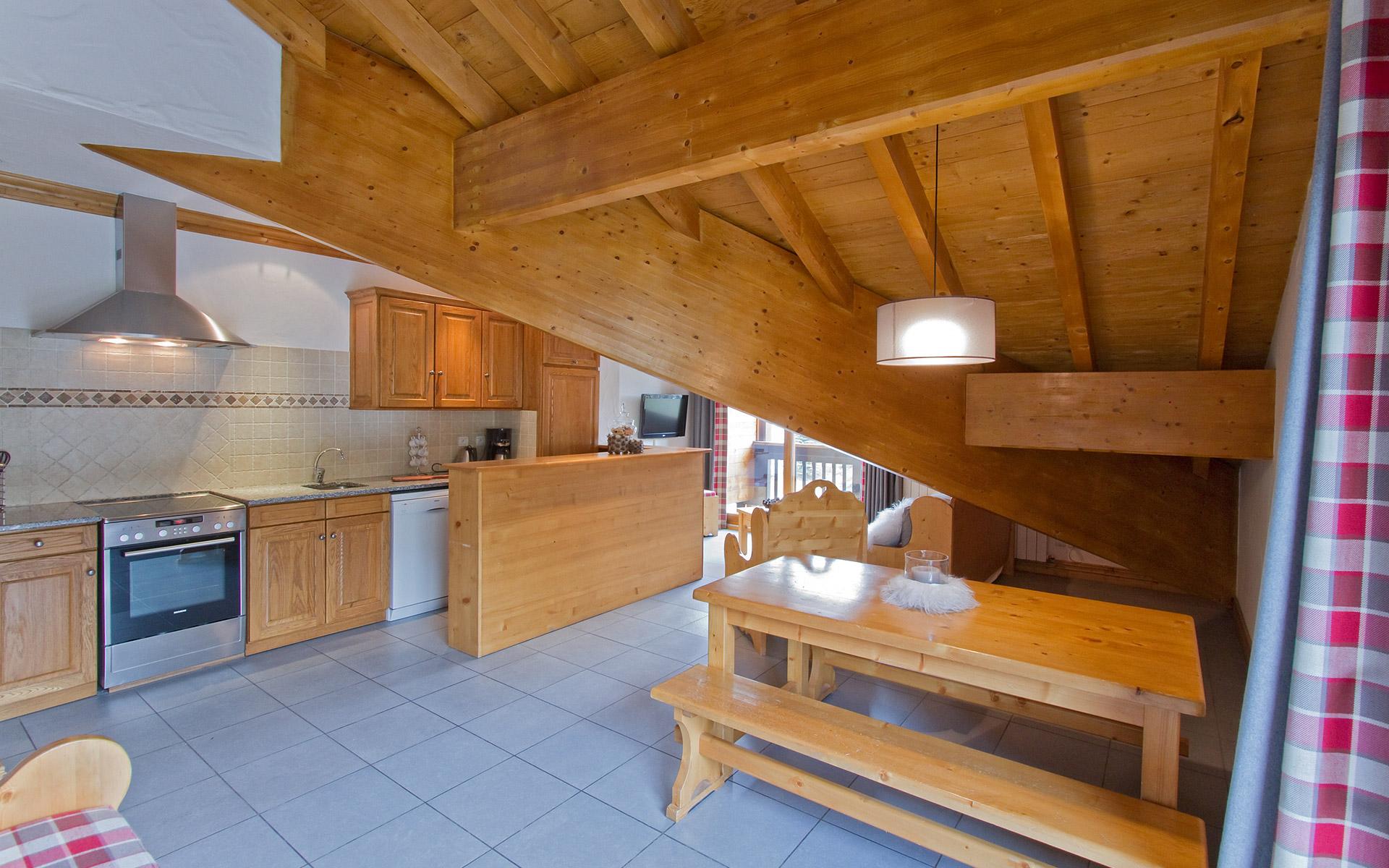 Appartement Gentiane - Les Balcons de Sarenne aux 2 Alpes