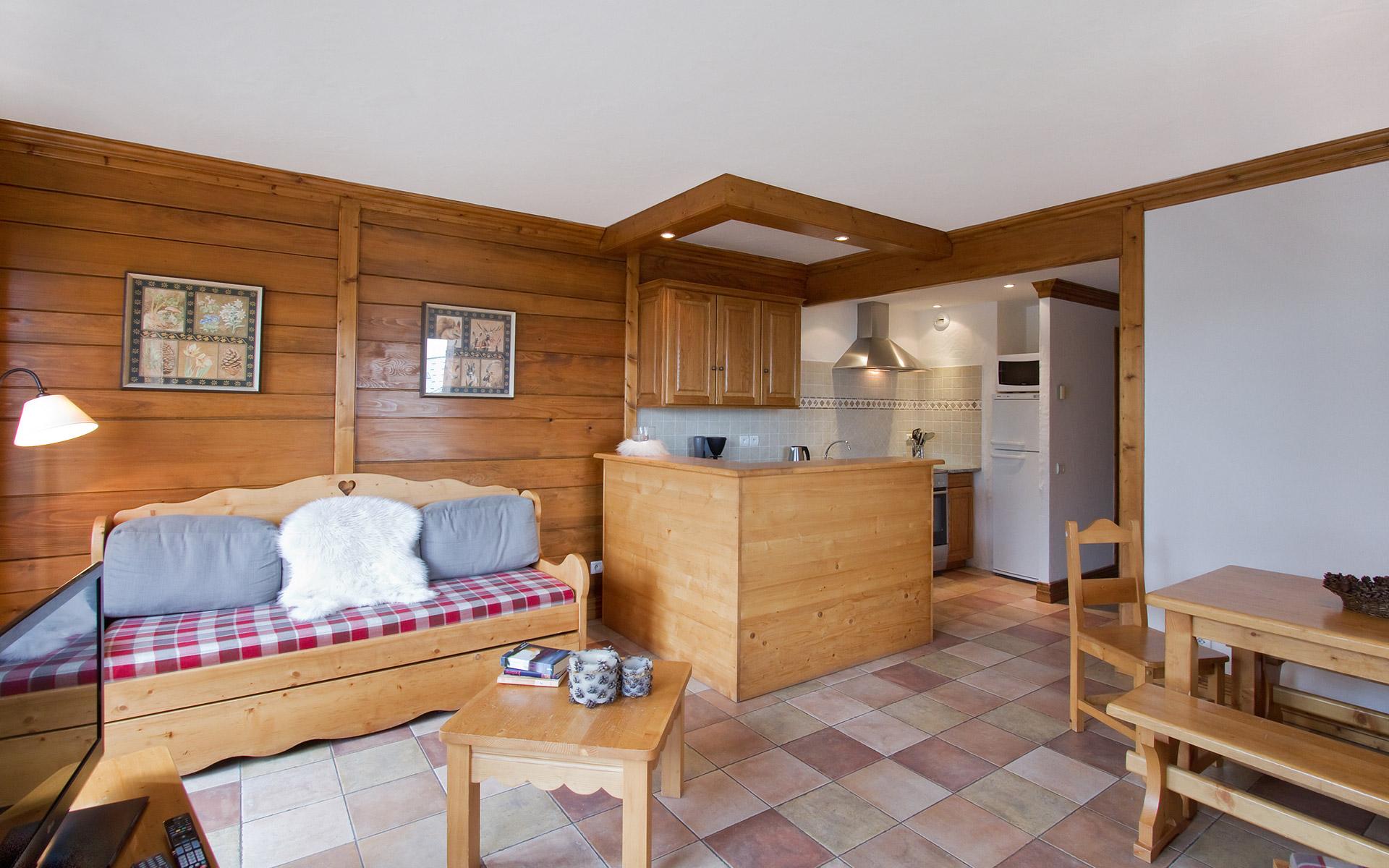 Appartement Anémone - Les Balcons de Sarenne aux 2 Alpes