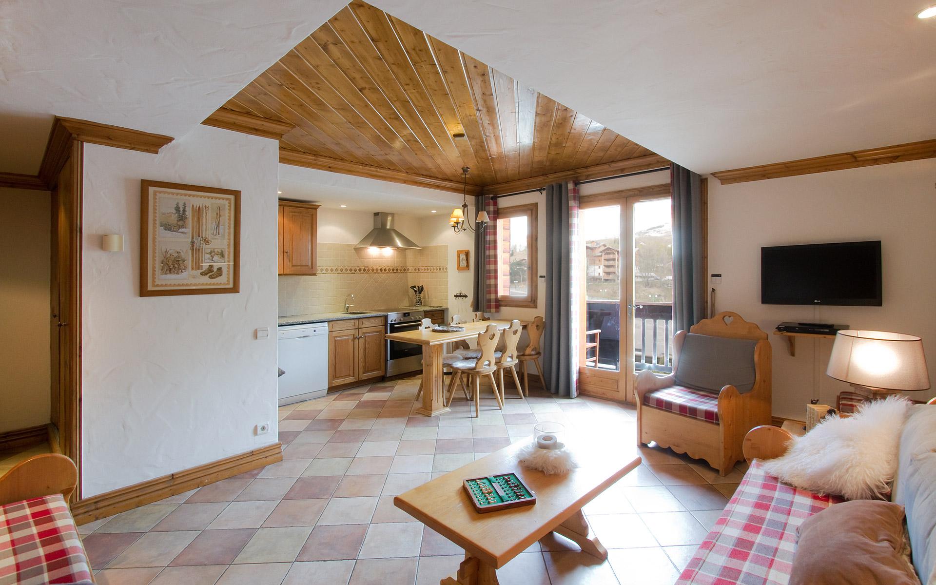 Appartement Chardon bleu - Les Balcons de Sarenne aux 2 Alpes